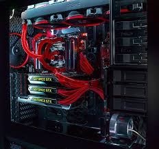 this a a gaming pc picture represents my love of computer building and gaming