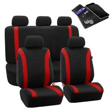 red car seat covers interior car