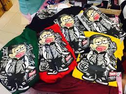 Bad Boy T Shirt Size Chart Nobita Bad Boy Shirt