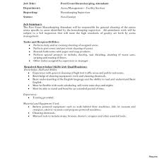Samples Of A Resume Sample Housekeeping Resumes Hotel Within ...