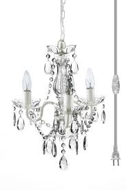 curtain magnificent small chandelier lighting 23 plug in mini minir table lamp string lights swag intended