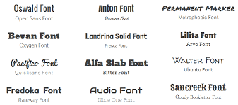 22social Stylish Font Combinations For Your App