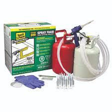 touch n foam 200 spray foam kit