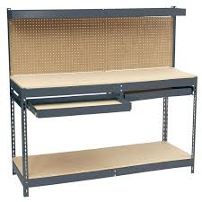 metal workbench with drawers. d steel workbench with pegboard and drawer storage metal drawers