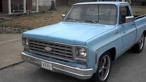 1976 chevy silverado for sale light blue - YouTube