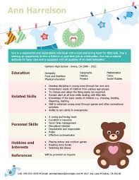 ... Responsibilities Babysitting Resume Examples for Teens Resume Skills  Reference ...