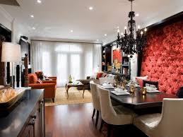 designing lighting. Delighful Lighting Red Tufted Dining Room Wall Intended Designing Lighting D