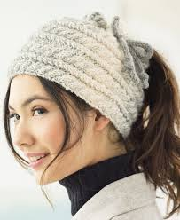 Bun Hat Pattern Delectable Messy Bun And Ponytail Hat Knitting Patterns In The Loop Knitting