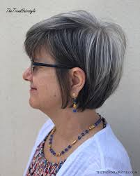 Try one of these short bob haircuts and hairstyles for a dramatic change! Gray And Layered 60 Gorgeous Hairstyles For Gray Hair The Trending Hairstyle
