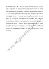 customer service essay sample from assignmentsupport com essay writin 10