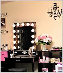 dressing table lighting ideas. Espresso Makeup Table With Lighting Ideas Dressing
