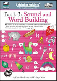 Activities Word Alphabet Activities Book 3 Sound And Word Building Ready Ed