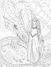 Detailed Mermaid Coloring Pages For Adults At Getcoloringscom