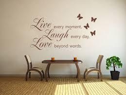 live laugh love wall art sticker wall