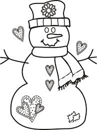 Small Picture Awesome Snowman Coloring Page 27 For Your Line Drawings with