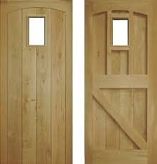 oak external doors and frames. external framed, ledge and brace doors: ex23 oak doors frames n