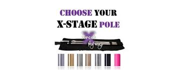 X Pole Size Chart X Stage Inserts