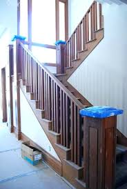 replace stair railing. Replace Stair Railing Wood Ideas How To Repairs Step Inside Staircase Wooden Idea 19