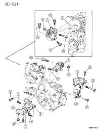 1996 dodge grand caravan engine mounts diagram 00000h0e