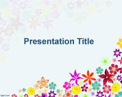 power points template 41 best floral powerpoint template images on pinterest ppt