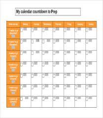 countdown templates printable countdown calendar template printable calendar template 10