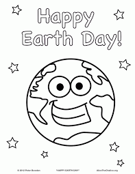 Small Picture Earth Day Coloring Pages For Preschoolers coloring page