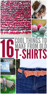 Upcycle Old Clothes The 25 Best Diy T Shirts Ideas On Pinterest Diy T Shirt Diy