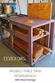 wooden tool box plans luxury table saw workbench with wood storage