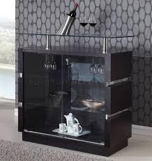Wenge Living Room Furniture Dg072 Bar Cabinet In Wenge By Global Furniture Usa