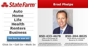 brad phelps state farm insurance agent insurance 1301 e cervantes st pensacola fl phone number yelp