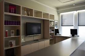 wall mounted black flat screen tv