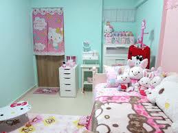kitty room decor. Modren Room Gymnastics Room Decor Hello Kitty Ideas Image Of Teen Home  For Less House Diy On K