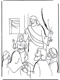 Dochtertje Van Jaïrus 2 Bijbel Kleurplaten Nieuwe Testament
