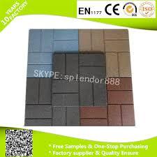 china hot ing rubber patio tiles driveway recycled rubber pavers with low china rubber paver rubber brick