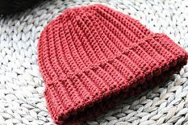 Mens Crochet Beanie Pattern Extraordinary Ravelry Beginner Ribbed Crochet Hat Pattern Men's Unisex