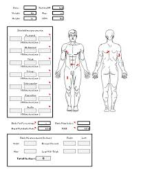 Weight Loss And Inches Tracker 4 Hour Body Measurements Calculating Body Fat And Total Inches