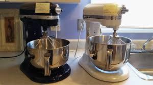 kitchenaid mixer professional 600 575w vs pro line series 1 3 hp