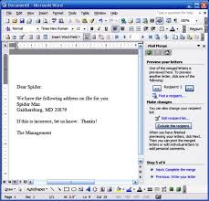 Word Mail Merge How Do I Use Microsoft Words Mail Merge Feature