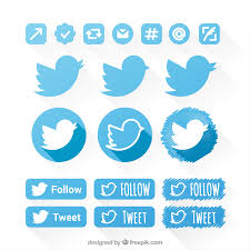 twitter vectors photos and psd files twitter icons set