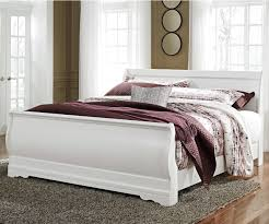 Signature Design by Ashley Anarasia King Sleigh Bed - Item Number: B129-78+