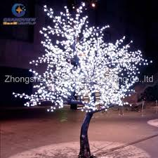 outdoor blossom tree led lights. led outdoor waterproof cherry blossom musical christmas tree branch lights led o