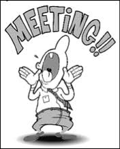 Image result for meeting reminder clipart