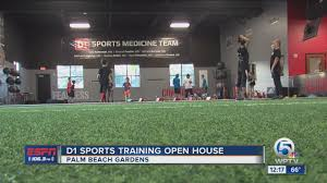 d1 sports training open house