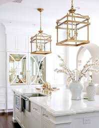 gold pendant light for kitchen h9c9 love the gold pendant lamps over the island maybe not