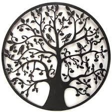 image is loading black tree of life wall art hanging metal  on metal art tree of life wall hanging with black tree of life wall art hanging metal iron sculpture garden big