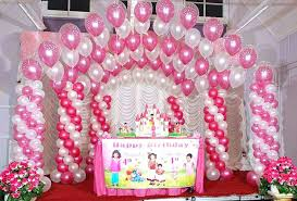 first birthday party room decoration ideas activities home