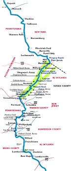 Canoeing The Delaware River