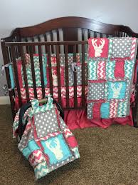 baby crib quilts woodland baby girl quilts and nursery bedding with deer