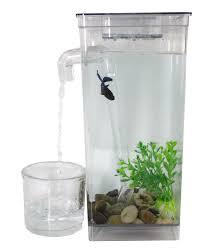 Fun Fish Tank Decorations Self Cleaning Fun Fish Tank Small Aquarium Desktop Bowl As Seen