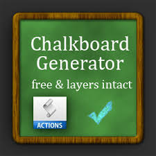 Chalkboard Sign Generator Chalkboard Generator Photoshop Action Frames And Borders